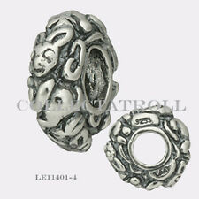 Authentic Trollbeads Silver Rabbit Bead Trollbead   LE11401-4  TAGBE-40074