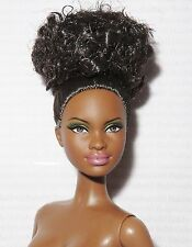 * NUDE BARBIE ~ RAVEN BROWN EYE BASIC MODEL #8 003 MUSE AA MBILI DOLL FOR OOAK