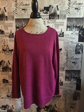 Apt 9 Women's X LARGE Maroon With Specks Of Gold Sweater Blouse. New With Tags