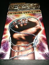 ECW Extreme Evolution New Sealed Uncensored VHS Pioneer Home Video Wrestling RVD