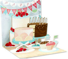 Birthday Cakes Pop-Up Birthday Card - Greeting Card by Up With Paper