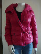 NWT GUESS HEIDI DISCO PINK BELTED PUFFY JACKET/COAT 100% AUTHENTIC-XSM