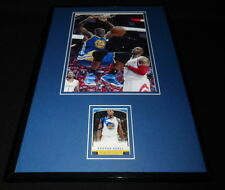 Festus Ezeli Signed Framed 11x17 Photo Display Warriors