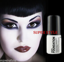 Stargazer WHITE Liquid Foundation Gothic Goth Emo Costume Party