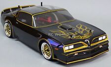 Custom RC 1/10 Drift PONTIAC TRANS AM SMOKEY & BANDIT Car - Ready To Run