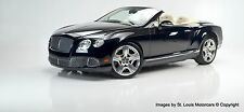 2012 Bentley Continental GT GTC Convertible 2-Door
