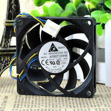 Delta DC brushless CPU cooling fan AFB0712HHB 0.45A 4-wire 70x70x15mm