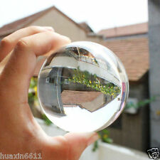 HOT!WHOLESALE*HUGE ASIAN QUARTZ CLEAR CRYSTAL BALL SPHERE 40MM + STAND