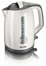 Philips Kettle Electric Cordless Cup Indicator Hinged Lid 3000W 1.7L HD4644/00