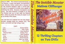 THE INVISIBLE MONSTER Cliffhanger Chapter Serial