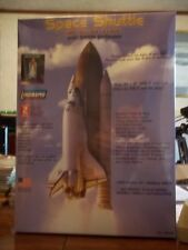 1/200 scale NASA Space Shuttle with Booster Rockets model kit by Lindberg, MIB