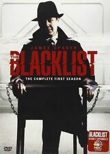 The Blacklist: The Complete First Season 1  (DVD, 2014, 5-Disc Set) WS