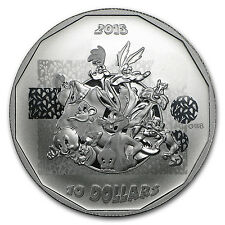 2015 Canada 1/2 oz Silver $10 Looney Tunes That's All Folks! - SKU #94250