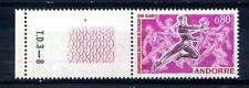 FRENCH ANDORRA - ANDORRA FRANCESE - 1971 - Campionati mondiali di pattinaggio
