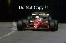 Andrea De Cesaris Dallara F189 Monaco Grand Prix 1989 Photograph
