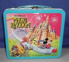 Micky Maus Lunchbox Magic Kingdom Koffer Walt Disney 70s Vintage Mickey Mouse