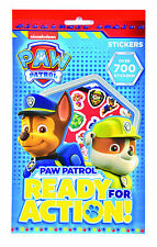 700 Assorted Paw Patrol Stickers Childrens Party Bag Stocking Filler Craft PPSTR