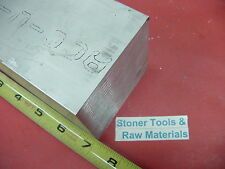 "3"" X 4"" ALUMINUM 6061 FLAT BAR 7"" LONG SOLID T6511 3.000"" Plate Mill Stock"