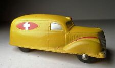 VINTAGE ORIGINAL MILITARY SUN RUBBER CO GREEN TOY AMBULANCE