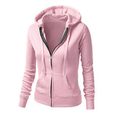 Women's Hoodies Jumper Sweatshirt Hooded Pullover Top Casual Sport Jacket Coat