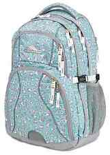"HIGH SIERRA Swerve Backpack For 17"" Laptops, Leopard Mint Green and Gray NWT"