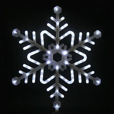 73cm Bright White LED Snowflake Light Christmas Xmas Indoor / Outdoor Decoration
