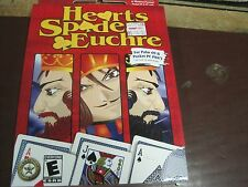 HEARTS SPADES EUCHRE PALM OS WINDOWS POWERED POCKET PC PDA's PC WIN 98/ME/XP NEW