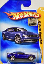 HOT WHEELS 2009 NEW MODELS 2010 FORD MUSTANG GT #41/42 BLUE FACTORY SEALED