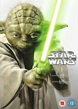 Star Wars - Prequel Trilogy - (Episodes I - III) (DVD, 2013, Box Set) NEW/SEALED