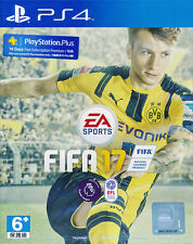 FIFA 17 PS4 Game (English & Chinese) BRAND NEW SEALED