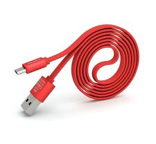 PINENG PN-303 Android High Speed Noddle 2A Micro USB Charging/Data Cable(1m) Red