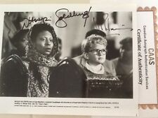 "Whoopi Goldberg & Neil Patrick Harris SIGNED 8x10 Photo 1988 ""Clara's Heart"" COA"