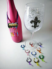 HIGH HEEL Shoes Themed Wine Glass Charms