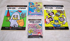MAD LIBS JUNIOR ~ World's Greatest Word Game…Collection of Crazy, Silly, Fun & E