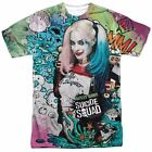 Suicide Squad Movie Harley Quinn Psychedelic Sublimation Adult Shirt