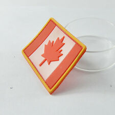 Hot Canada Flag Army Morale PVC 3D Rubber Badge Military Tactical Velcro Patch