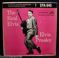 ELVIS PRESLEY-The Real Elvis-Ep 45+Cardboard Sleeve-RCA VICTOR #EPA-940