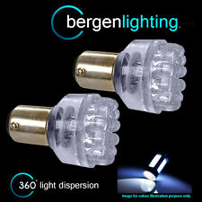 380 BAY15D 1157 WHITE 24 DOME LED DRL SIDELIGHT SIDE LIGHT BULBS HID SLD200401