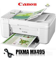 CANON MX495 MULTIFUNKTIONS DRUCKER SCANNER KOPIERER FAX WLAN  * WEIß *