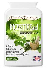 Enzima digestiva ayuda Hierbas Digestión dolor de estómago mal aliento flatulencia reflujo