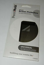 Point Mobl Universal Screen Protectors - 5 pack - Moblie phones, cameras, etc