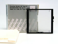 MAMIYA RZ67 SCHERMO MESSA A FUOCO/ FOCUSING SCREEN TYPE D ( CROSS HAIR ) NUOVO