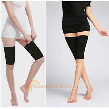 1 Pair Calorie Off Massager Slimming Body Thigh Leg Fat Buster Loss Shaper Black