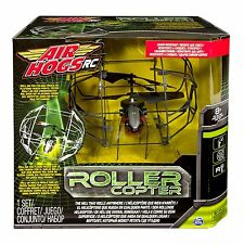 Air Hogs Roller Copter Ages 8+ Radio Remote Control Plane RC Helicopter IR Gift
