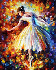 "Surrounded By Music —  Oil Painting On Canvas By Leonid Afremov. Size: 24""x30"""