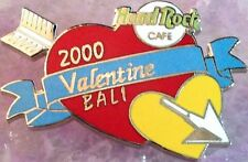 Hard Rock Cafe BALI 2000 Valentine's Day PIN Arrow Piercing Red Heart - HRC #630