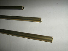 Barra Tubo tondo diam. 8/6mm in OTTONE trafilato lunghezza 1 Mt. TORNIO/FRESA