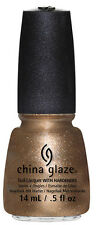 China Glaze Nail Polish - GOLDIE BUT GOODIE - .5oz, 15ml - 81349