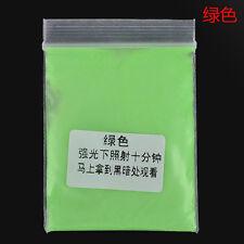 12 Colors Fashion Fluorescent Super Bright Glow in the Dark Powder Glow Pigment