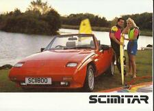 RELIANT SCIMITAR 1400, 1600 AND 1800 Ti  SALES BROCHURE 1988  1989